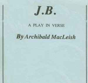 JB a play in verse
